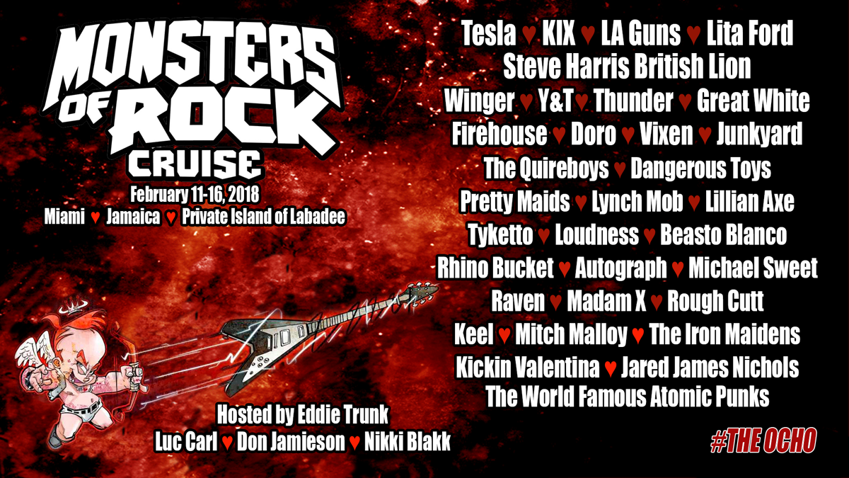 monsters of rock 2018