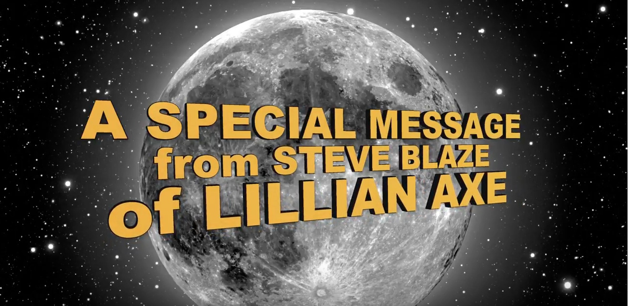 Steve Blaze from Lillian Axe MORC 2018 Shout Out